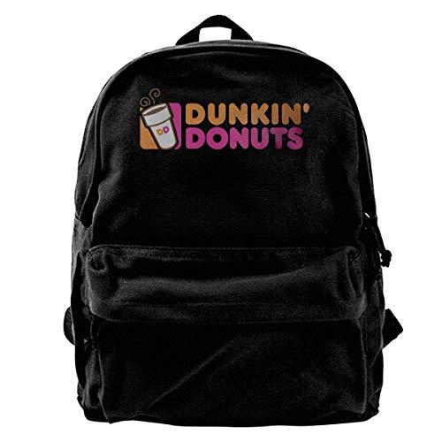 Husimy Casual Daypacks Rucksack Tasche Dunkin' Donuts Canvas Rucksäcke für Männer und Frauen