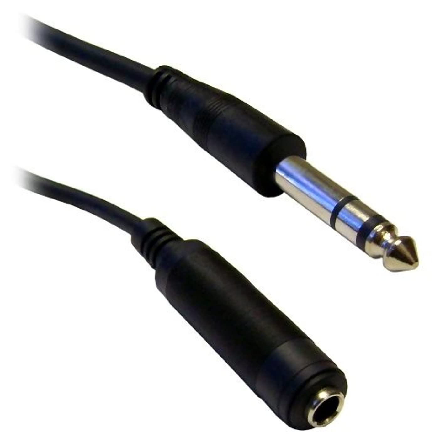 C&E CNE40377 15-Feet 1/4-Inch Stereo Extension Cable, TRS, Balanced, 1/4-Inch Male to 1/4-Inch Female