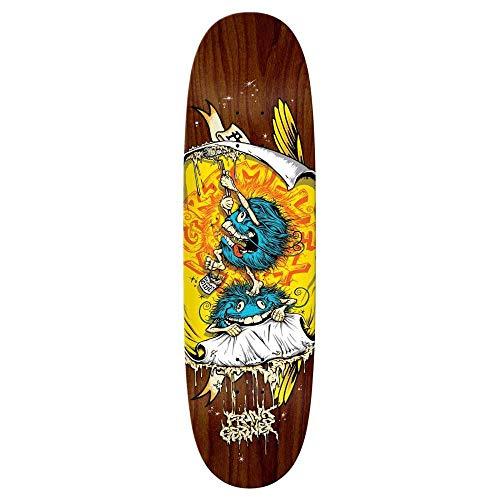 Skateboard-Deck Antihero Grimplease Glue Gerwer Slick 8.75 x 31.5