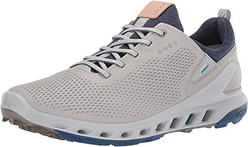 ECCO Men's Biom Cool Pro Gore-TEX Golf Shoe, Concrete Yak Leather, 8-8.5