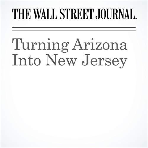 Turning Arizona Into New Jersey copertina