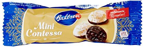 Bahlsen Mini Contessa Dessertpackung – kleine würzige Lebkuchen mit Schokoboden – Großpackung mit circa 96 Einzelpackungen – ideal zum Mitnehmen im Winter, 1er Pack (1 x 2.496 kg)