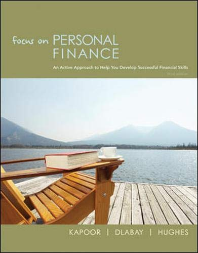 Focus on Personal Finance (The Mcgraw-hill/Irwin Series...
