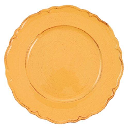 Galileo Casa 2415495 Dessous de Plat ondulé, Orange
