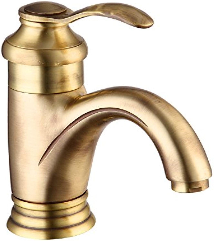 MEIBATH Waschtischarmatur Badezimmer Waschbecken Wasserhahn Küchenarmaturen Messing Einzelne Bohrung heies und Kaltes Wasser Küchen Wasserhahn Badarmatur