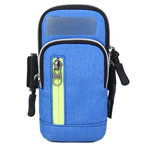 Bolsa de deporte para el brazo de la bolsa de correr del teléfono móvil de las mujeres de los hombres universal deportes cubierta del brazo del teléfono de la muñeca lindo bolsos deportivos (color: E)