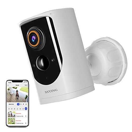 SSYING Security Camera Outdoor Wireless Battery Power,Cloud storage,1080P...