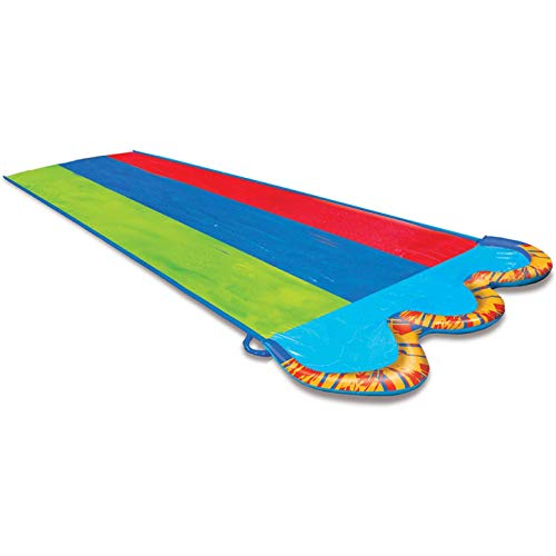 BANZAI Triple Racer Water 16 Feet Long, Slide (42326)