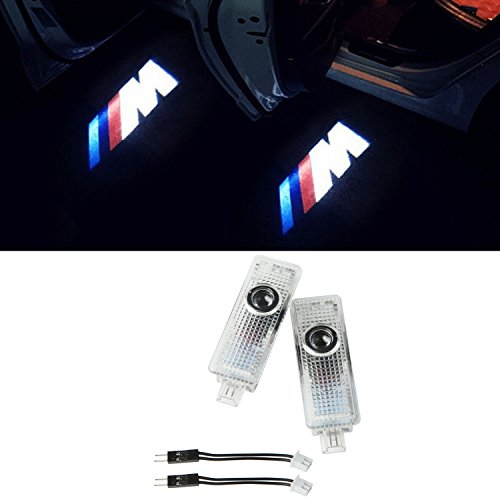 Preisvergleich Produktbild EOVVIO 2 Stück Autotür LED Logo Beleuchtung Türbeleuchtung Einstiegsleuchte Projektion Licht Ghost Shadow Licht