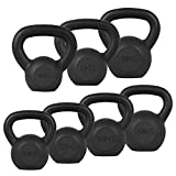 XN8 Cast Iron Kettlebell - 4Kg to 20Kg Heavy Weight Kettle Bells for Gym <span class='highlight'>Equipment</span>-Fitness-<span class='highlight'>Exercise</span>-Strength-Training-Workout-Cardio