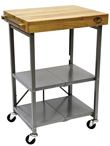 Bradley Smoker Foldable Kitchen Cart, One Size