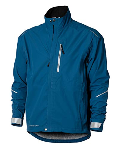 Showers Pass - Chaqueta impermeable transpirable para hombre, Hombre, color Alpes Azul, tamaño xx-large