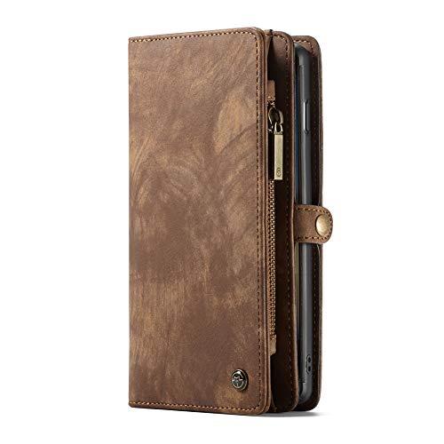Galaxy S9/S9 Plus/Note 9/Note 8ケース手帳型ケースカバー 財布 横開き マグネット式 レザー カードポケット スタンド機能 小銭入れ 札入れ おしゃれ 多機能 大容量 スマホケース
