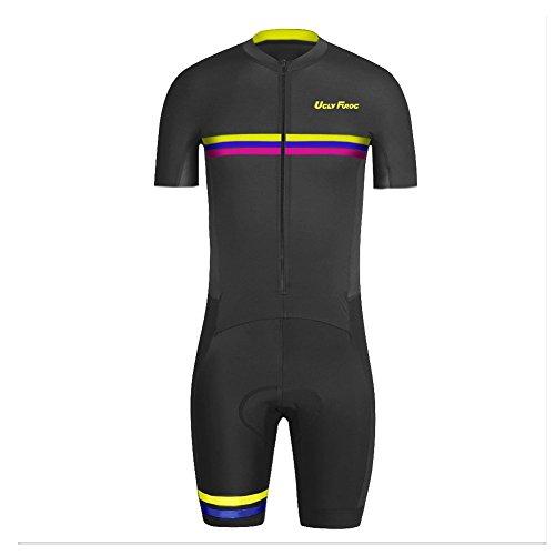 Uglyfrog DXSZ06 Nouveaux Hommes Respirant été Manches Courtes vélos Combinaison Cyclisme Skinsuit Vêtements de Sport