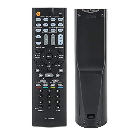 Multifunctionele tv-afstandsbediening, premium ABS-afstandsbediening Vervangend onderdeel Geschikt voor Onkyo RC-799M