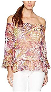Lucky Brand Multi color Off Shoulder Blouse For Women