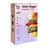 Adda Veggie Plant-Based Ground Meat Alternative - Veggie Burger Mix - Gluten-Free, Soy-Free, High-Protein - Original Blend (Pack of 5)