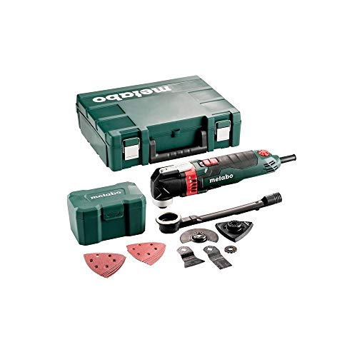 METABO Multitool MT 400 Quick Set (601406500); für Holz; Kunststoffkoffer