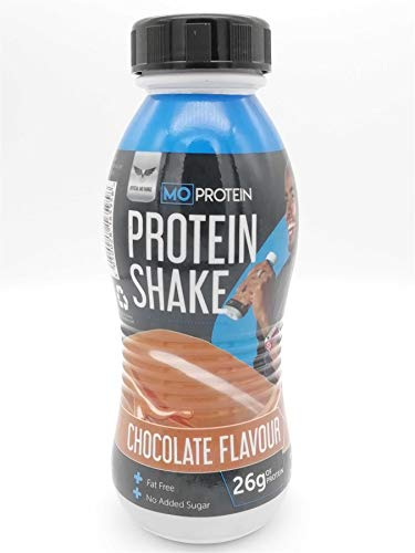 Mo Farah Protein Shake Chocolate Flavour 310ml, A Rich Source of Protein