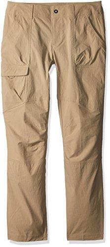 Columbia Silver Ridge Pantalon Stretch pour Femme, Femme, 1773541, Camel, 16X-Regular