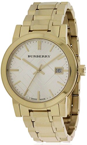 BURBERRY BU9103 - Damen-Armbanduhr mit Armband aus Edelstahl Gold