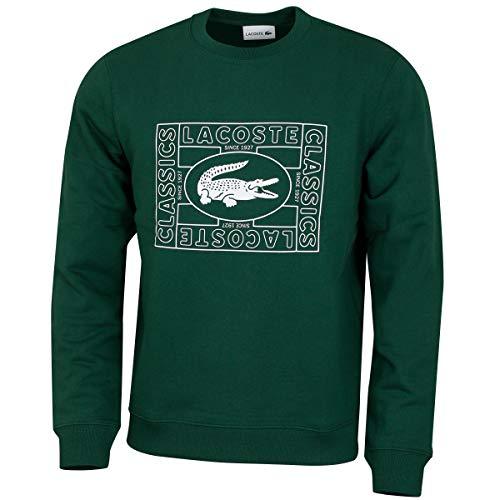 Lacoste Herren Sweatshirt smaragd (42) 4
