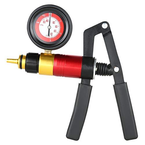 Gaetooely 21 Pcs Juego de Bomba de Vacío de Mano Probador para Automoción con Adaptadores Kit de Prueba de Purga de Frenos