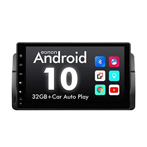 GA9450B Android 10 Car Stereo for BMW E46 (1999~2004) 9' HD Pantalla táctil Completa Navegación GPS Sat Nav Quad-Core 2GB RAM 32GB ROM Bluetooth FM DSP Incorporado Reproducción (NO DVD)