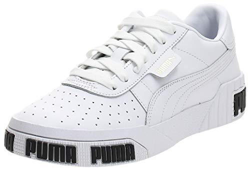 Puma Damen Cali Bold WN's' Sneaker, White-Metallic Gold 01, 40 EU