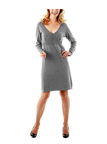 Aniston Damen-Kleid Strickkleid Mehrfarbig Größe 36 passt Größe 38, fällt groß aus
