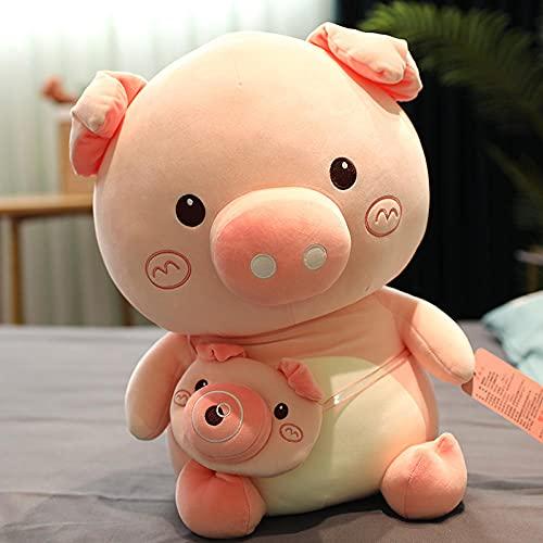 Burbuja cerdo pequeño niño felpa juguete cama dormir abrazo muñeca bebé super suave almohada-Bubble pig_23cm (sin cámara pequeña bolsa)