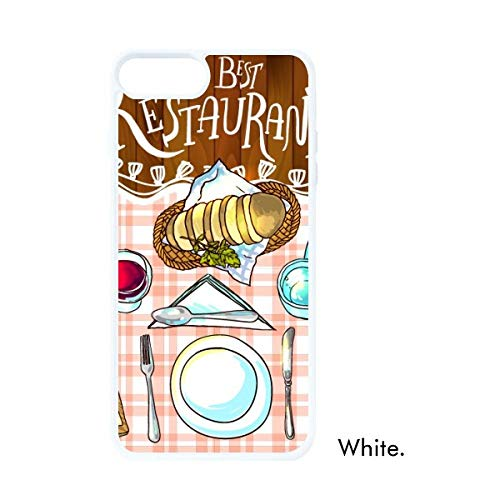 DIYthinker The Best Restaurant wijn limonade witte Phonecase Apple Cover Case cadeau