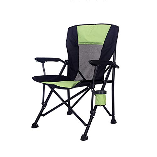 RVC Folding Camping Chair Portable Lawn Chair With Carry Bag Cup Holder Lightweight For Hiking Beach Heavy Duty Sturdy Frame