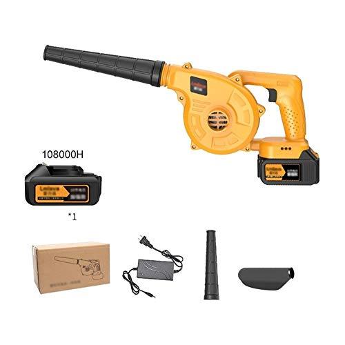ALGWXQ 3-in-1 Elektro-Laubsauger, Garten Blower und Vakuum & Shredder Leicht, stufenloser Wechsel (Size : Battery*1)