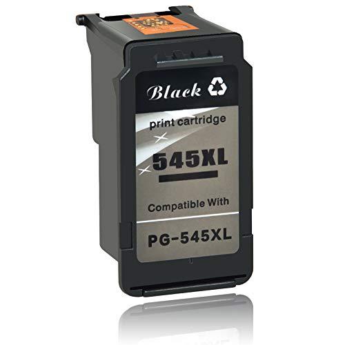 NineLeaf 545XL 545 XL - Cartucce d'inchiostro rigenerate per Canon PG-545 nero PG545, compatibili con Canon Pixma MG2550 MG2550S MG3050 MG2950 MG2950S MG2500 MG2450 MG3051 MX495
