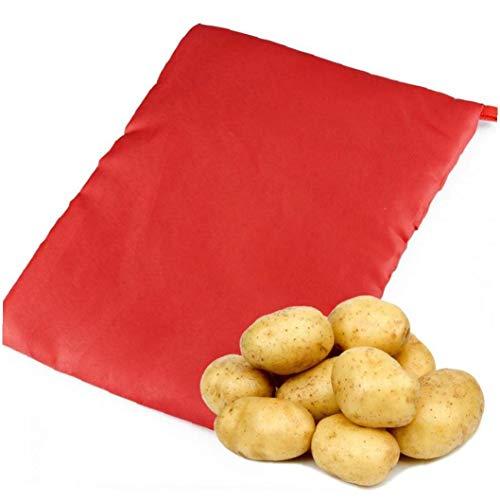 Case&Cover 1pc Lavabile Fornello Borsa Patate Forno a Microonde della Patata Cottura Rapida Cuochi Veloci