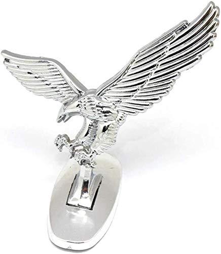 LIFEIYAN Car Ornaments 3D Emblem Car Logo Front Hood Ornament Car Cover Chrome Eagle Badge For Auto Car Dashboard Interior Accessories car accessories for women
