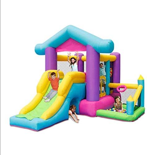 Dmqpp Planschbecken for Hüpfburg und Rutsche/Outdoor-S Slide/Home Platz Trampolin/Kindergarten Spielzeug Platz/Außenhandel Trampolin/Kinder