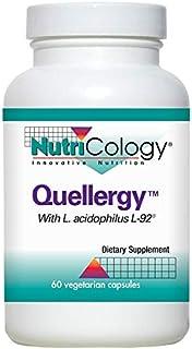 NutriCology Quellergy 60 Vegetarian Capsules