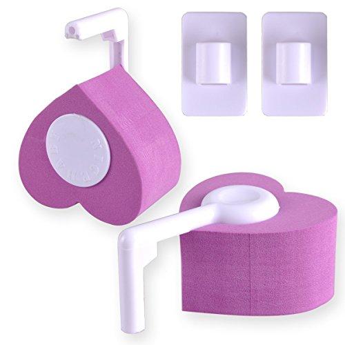 PriMI Lot de 2 protections de sûreté pour bébés et enfants anti pincement de doigts dans les charnières et portes, Violet