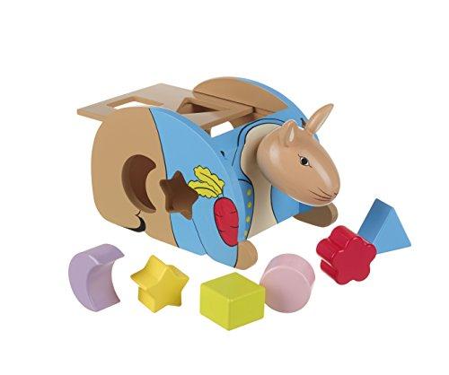 Orange Tree Toys - Trieur de formes Peter Rabbit.