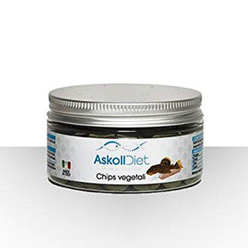 Askoll 280520 Diet Mangime per Pesci Chips Vegetali, S