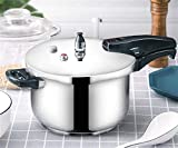 Cocina de presión de acero inoxidable de grado alimenticio, olla a presión a prueba de explosiones, una variedad de especificaciones opcionales, cocina de cocina de inducción de gas de cocina, 3.6L ~