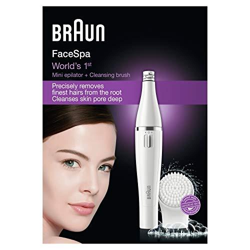 Braun SE810 Face-Depiladora (AA) Color Blanco, Plastic