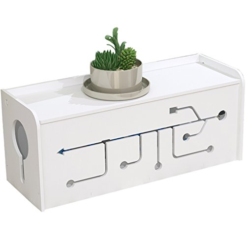 Cable Storage Box,GZD Splicing Cable Management Box Organizer Power Strip Box,Kids & Pet Friendly,For Power Cable And Plug,26*13*15Cm