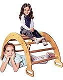Goodevas Wooden Ladder Arch for Climbing - Montessori Gym for Toddlers...