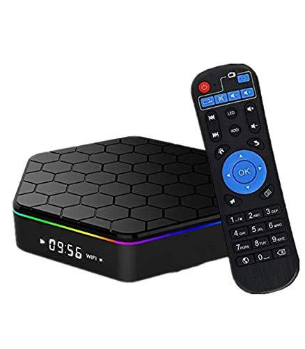 TV Box,Android 7.1 TV Box 3GB RAM/ 32GB ROM, Amlogic S912 Octa-Core 64 Bits Processor, Android TV Box 2.4GHz/5GHz WiFi, 1000M Ethernet LAN, UHD 4k Bluetooth 4.0
