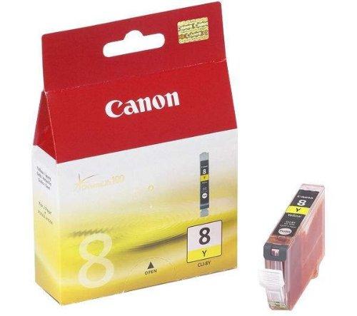 Canon Pixma IP 4200 - Original Canon / 0623B001 / CLI-8Y / Pixma IP3300 Tinte Yellow -