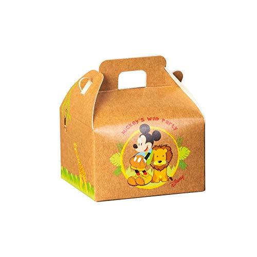 A&D Juego de 20 cajas para peladillas de Mickey Mouse Wild Disney