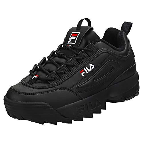 Fila Disruptor 2 Damen Mode Sneaker in Black White - 37.5 EU